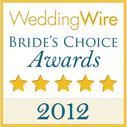 Wedding Wire Award 2012