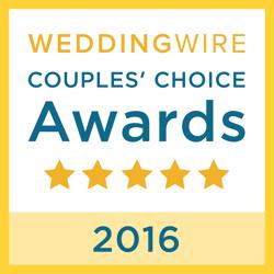 Wedding Wire Badge Award